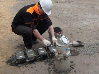 Контроль за уложенной бетонной смеси бетон синтез