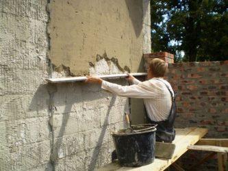 Стоимость оштукатуривания цементным раствором керамзитобетон ижевск купить