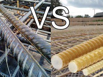 Какая арматура лучше металлическая или стеклопластиковая?